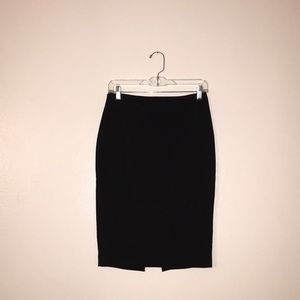 High Waisted Extreme Stretch Pencil Skirt